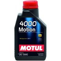Масло моторное Motul 4000 MOTION SAE 15W40