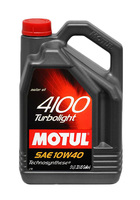 Масло моторное Motul 4100 TURBOLIGHT SAE 10W40