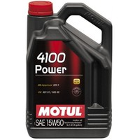 Масло моторное Motul 4100 POWER SAE 15W50