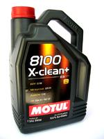 Масло моторное Motul 8100 X-CLEAN + SAE 5W30