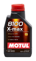 Масло моторное Motul 8100 X-MAX SAE 0W30