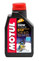 Масло моторное Motul SNOWPOWER 4T SAE 0W40