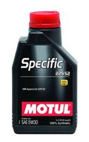 Масло моторное Motul SPECIFIC 229.52 SAE 5W30